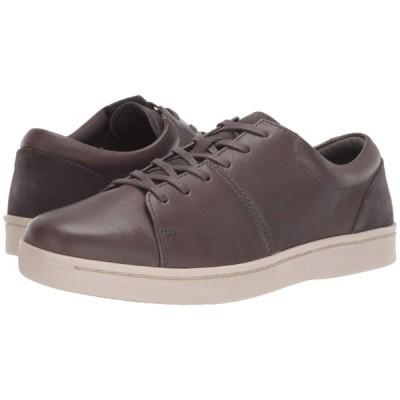 クラークス Clarks メンズ スニーカー シューズ・靴 Kitna Vibe Grey Leather