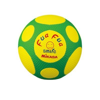 FFF4-YG ふあふあサッカー4号縫い 約150g 黄緑