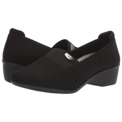アン クライン Anne Klein レディース ローファー・オックスフォード シューズ・靴 Wallas Black