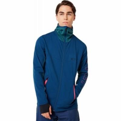 オークリー Oakley メンズ スキー・スノーボード トップス hot springs thermal fz fleece Poseidon