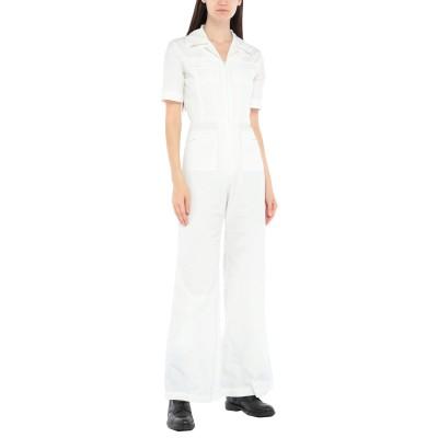 SUPER BLOND ジャンプスーツ ホワイト 38 キュプラ 100% ジャンプスーツ