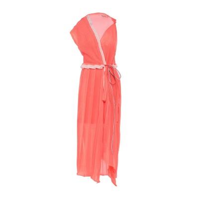 CIRCUS HOTEL ロングワンピース&ドレス オレンジ XS ポリエステル 100% ロングワンピース&ドレス