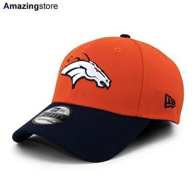 ニューエラ 9FORTY デンバー ブロンコス 【NFL THE LEAGUE ADJUSTABLE CAP/ORANGE-NAVY】 NEW ERA DENVER BRONCOS