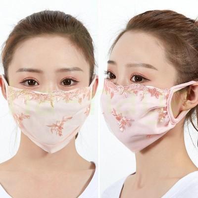 洗えるマスク マスク 3枚セット 洗える 繰り返し使える 調節可 花粉症 飛沫感染 予防 小顔マスク デイリー レディース 女性用 通気性 UV