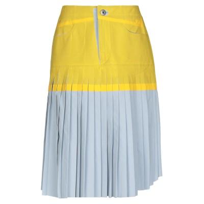 メゾン マルジェラ MAISON MARGIELA ひざ丈スカート ライトグレー 40 コットン 100% / ナイロン ひざ丈スカート
