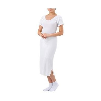 さんび さらひや浴衣スリップNo,176 ゆかたにも着物にもつかえるスリップ 短めの丈で足さばきも楽チン (L)