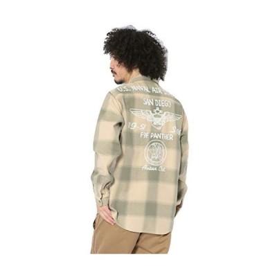 [アヴィレックス] ネルシャツ NAVAL LIGHT NELL SHIRT 6105139 メンズ