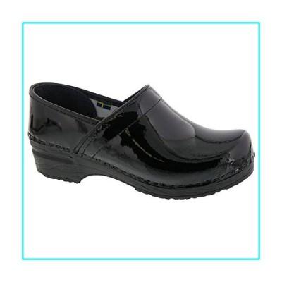Bjork PRO ELSA Black Patent Leather Clogs (EU 39)【並行輸入品】