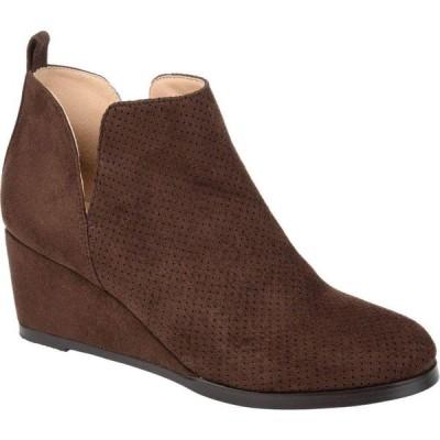 ジュルネ コレクション Journee Collection レディース ブーツ シューズ・靴 Mylee Bootie Brown