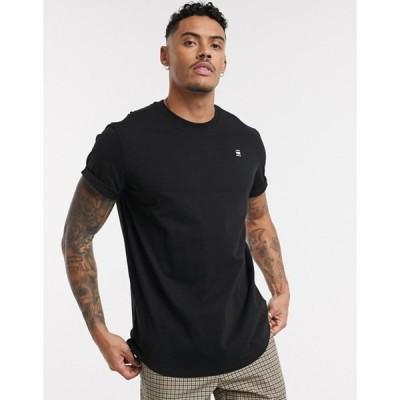 ジースター メンズ シャツ トップス G-Star Lash t-shirt in black