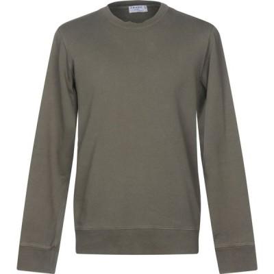 フレーム FRAME メンズ スウェット・トレーナー トップス sweatshirt Military green