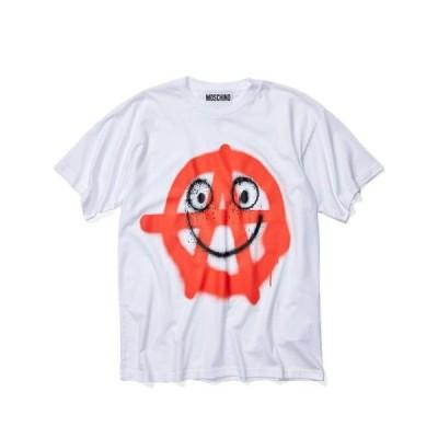モスキーノ メンズ 服  Happy Anarchy T-Shirt
