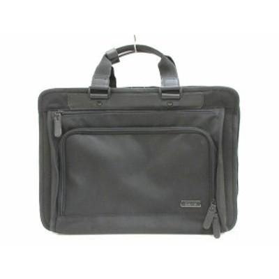 【中古】is・+ アイエス プラス ビジネスバッグ ブリーフケース BAG カバン 黒 ブラック 手持ち鞄 メンズ