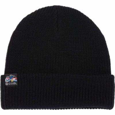 コール Coal Headwear メンズ ニット ビーニー 帽子 Squad Beanie Black/Melancon