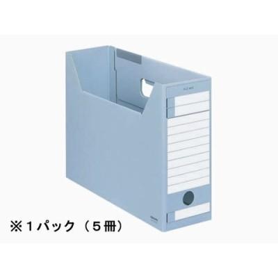 コクヨ/ファイルボックス-FS〈Eタイプ〉A4ヨコ 背幅102mm 青 5冊