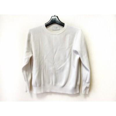 クラネ CLANE 長袖セーター サイズ38 M レディース - 白【中古】20210216