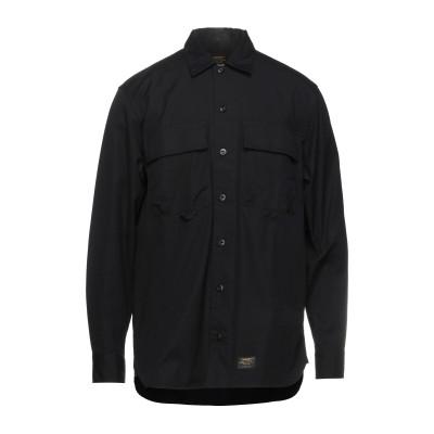 カーハート CARHARTT シャツ ブラック XS コットン 100% シャツ