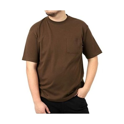 [ルイシャブロン] Tシャツ 大きいサイズ メンズ 半袖 無地 おしゃれ カジュアル カットソー 柔らかい クルーネック 吸汗速乾 抗菌防臭