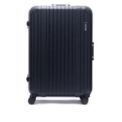 BERMAS【正規品1年保証】 バーマス スーツケース BERMAS HERITAGE ヘリテージ キャリーケース フレーム 軽量 64L 5~6泊 4輪 ハード 旅行 出張 ビジネス 60493 ネイビー(60)