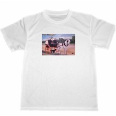 ジェニエ爺さんの馬車 アンリ・ルソー ドライ Tシャツ