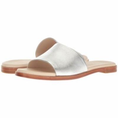 コールハーン サンダル・ミュール Anica Slide Sandal Silver Metallic
