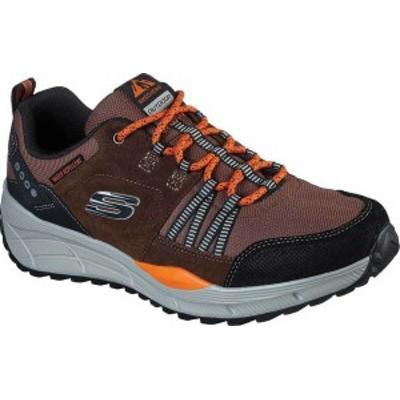 スケッチャーズ メンズ スニーカー シューズ Men's Skechers Relaxed Fit Equalizer 4.0 Trail Sneaker Brown/Black