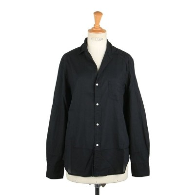 【30%OFF】EILEEN-ITALIAN LIGHT POPLIN -BLACK (9910700045) Frank & Eileen -Women-(フランクアンドアイリーン)