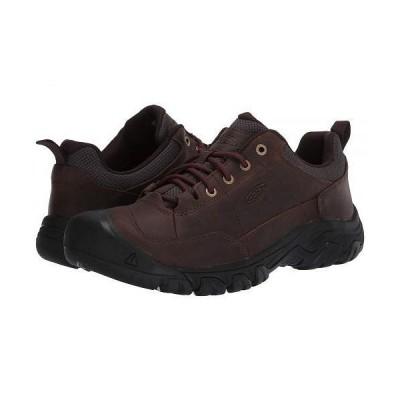 Keen キーン メンズ 男性用 シューズ 靴 スニーカー 運動靴 Targhee III Oxford - Dark Earth/Mulch