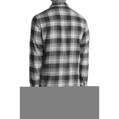 ペイジ メンズ シャツ トップス Hunter Shirt BLUE TEAL/TRELLIS- LOUISVILLE