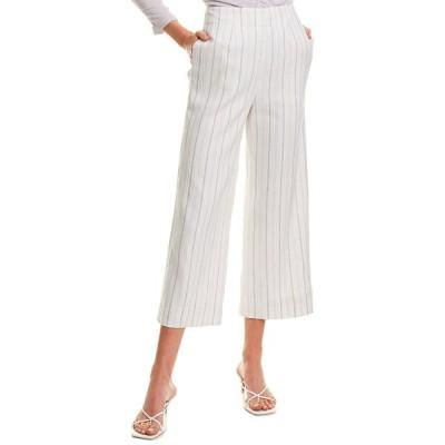 レベッカテイラー カジュアルパンツ ボトムス レディース Rebecca Taylor Striped Suit Pant lilac combo
