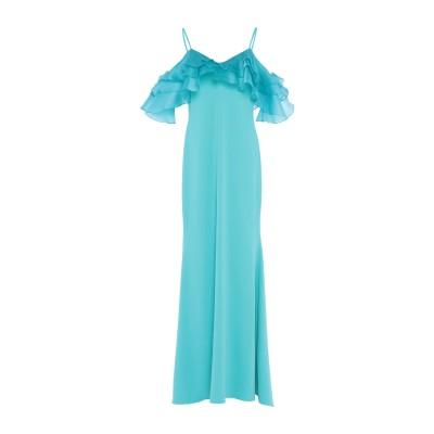 BADGLEY MISCHKA ロングワンピース&ドレス スカイブルー 6 ポリエステル 98% / ポリウレタン 2% ロングワンピース&ドレス