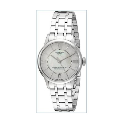 Tissot Women's T0992071111800 T-Classic Analog Swiss Automatic Silver-Toned Stainless Steel Watch並行輸入品