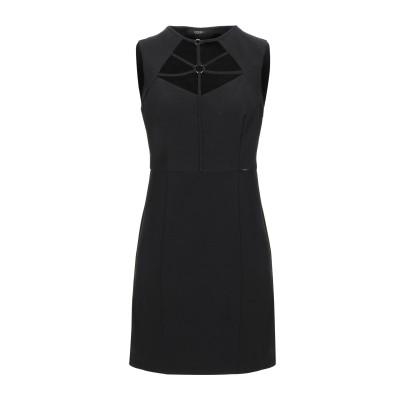 ゲス GUESS ミニワンピース&ドレス ブラック S ポリエステル 90% / ポリウレタン 10% ミニワンピース&ドレス