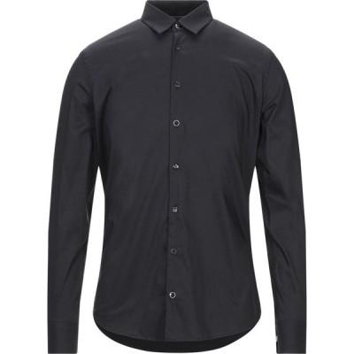 センス SSEINSE メンズ シャツ トップス solid color shirt Black