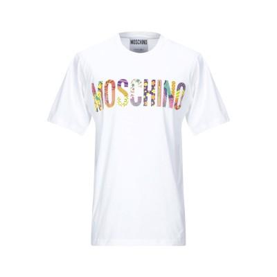 モスキーノ MOSCHINO T シャツ ホワイト XS コットン 100% T シャツ
