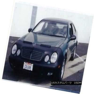 USフルブラ・USノーズブラ コルガンフロントエンドマスクブラ2pc メルセデスベンツに適合CLK320 1998-01 W / O Lic.Plat