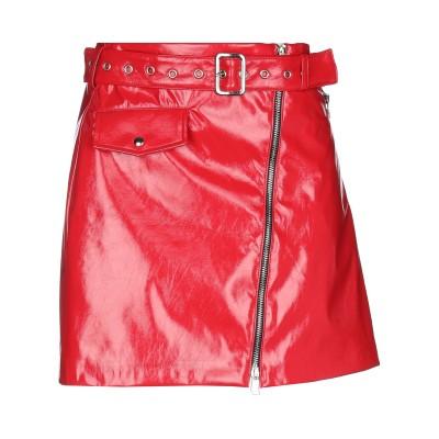 NORA BARTH ミニスカート レッド 44 ポリウレタン 60% / ポリエステル 40% ミニスカート