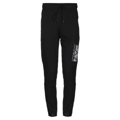 EA7 パンツ ブラック XS コットン 95% / ポリウレタン 5% / ポリエステル パンツ