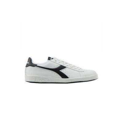 スニーカー ディアドラ  Diadora Men's Game P Low Top Shoes White Sports Football Italian Clothing Appare