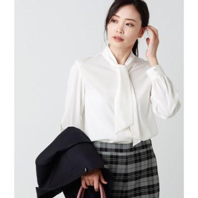 NEWYORKER / シルキーブロード ボウタイデザインシャツ(スーツインナー対応)