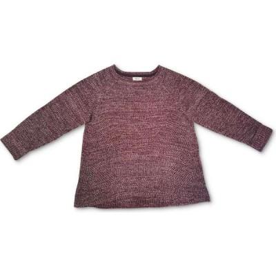 スタイル&コー Style & Co レディース ニット・セーター 大きいサイズ ポインテール Plus Size Marl Pointelle Cuffed Sweater Cherry Pie Combo