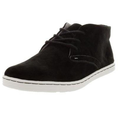 セバゴ  Sebago メンズ Baet Chukka Black Nubuck Casual Shoe