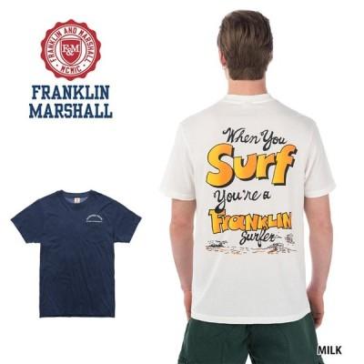 FRANKLIN&MARSHALL フランクリン&マーシャル Tシャツ メンズ