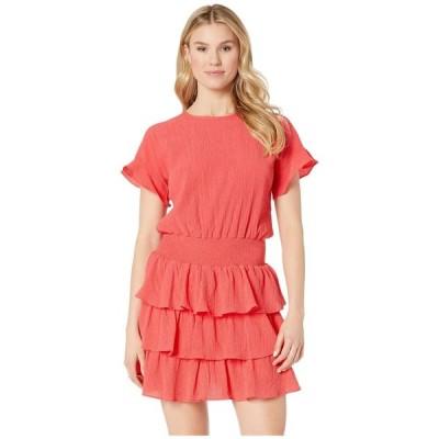 マイケル コース MICHAEL Michael Kors レディース ワンピース ワンピース・ドレス Pucker T-Shirt Smock Dress Sea Coral