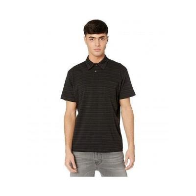 Billabong ビラボン メンズ 男性用 ファッション ポロシャツ Standard Issue Polo - Black