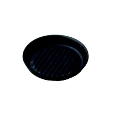 鉄製丸皿 波 小M20-724/業務用食器/新品
