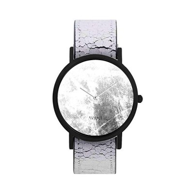 South Lane Stainless Steel Swiss-Quartz Watch with Leather Calfskin Strap, Black, 20 (Model: SS20-dr1-4545) 並行輸入品