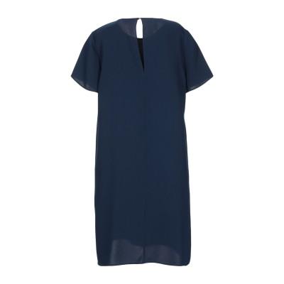 パロッシュ P.A.R.O.S.H. ミニワンピース&ドレス ダークブルー XS ポリエステル 100% ミニワンピース&ドレス
