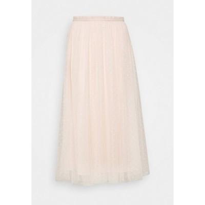 ニードルアンドスレッド スカート レディース ボトムス KISSES MIDAXI SKIRT - A-line skirt - strawberry icing