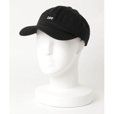 LB/S / 【LEE/リー】ツイルロゴローキャップ ワンポイント 刺繍 WOMEN 帽子 > キャップ